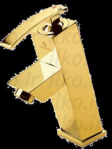 شیر روشویی/دستشویی صدف طلایی قهرمان