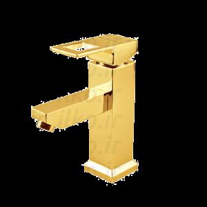 شیر روشویی فلت رویال طلایی قهرمان