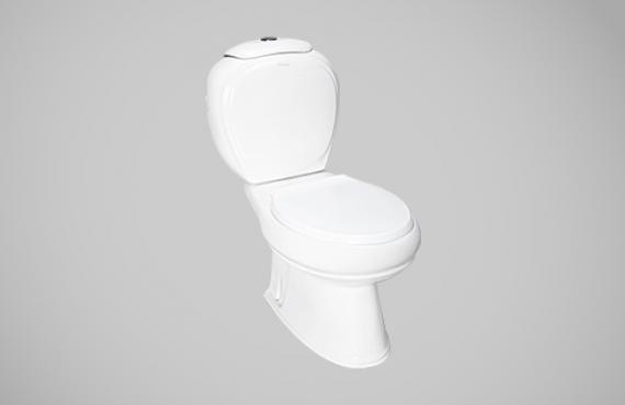 چینی کرد توالت فرنگی دو تکه ژاسمین
