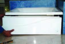 جدا کردن پانل زیر دوشی