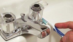 تمیز کردن شیرآلات